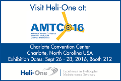 Heli-One will be at AMTC 2016