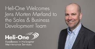 Heli-One Welcomes Jens Morten Mørland to the Sales and Business Development Team