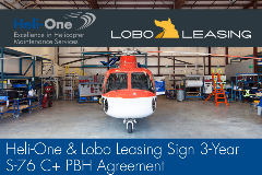 Aug-3-2017 Heli-One-Lobo-Leasing-S-76-PBH