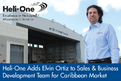 Heli-One Adds Elvin Ortiz to Sales & Business Development Team for Caribbean Market