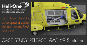 Heli-One Announces AW169 EMS Modification Case Study Release