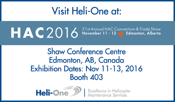 Heli-One at HAC 2016