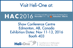 Heli-One at HAC2016