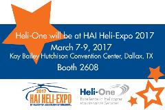 Heli-One at HAI 2017