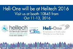 Heli-One at Helitech 2016