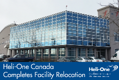 Heli-One Canada Completes Facility Relocation