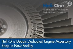 Heli-One Debuts Engine Accessory Shop