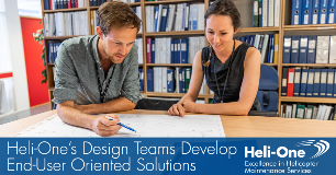 Heli-One Design Teams Develop End-User Oriented Solutions