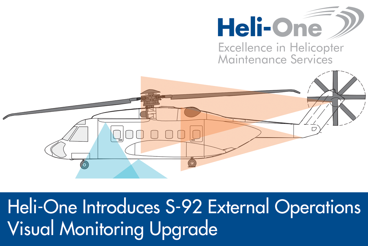 Heli-One Introduces S-92 External Operations Visual Monitoring Upgrade