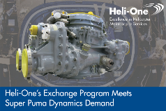 Heli-One Meets Super Puma Exchange Demand
