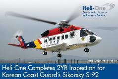 Sept 7 2016_Heli-One Completes 2Yr Inspection for KCG S-92