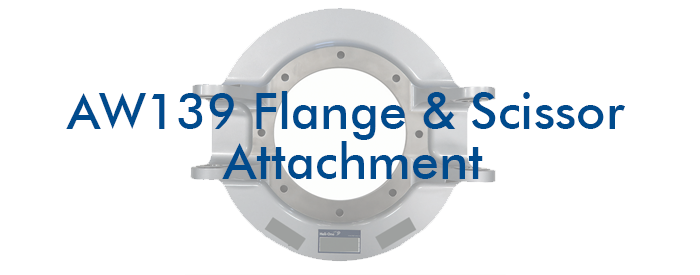 AW139-Flange-Scissor-Attachment Repair