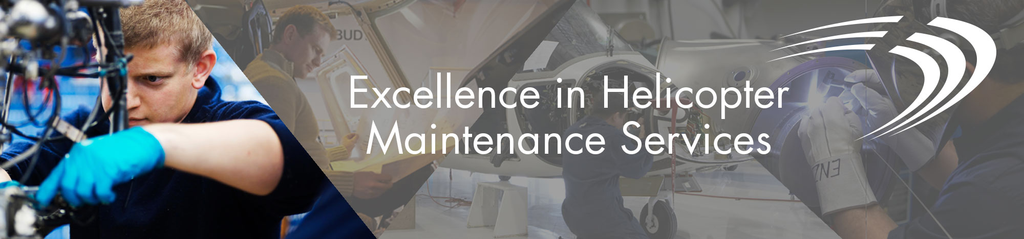 Heli-One Helicopter Maintenance Repair Overhaul Banner