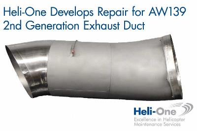 AW139 2nd Generation Exhaust Duct Repair