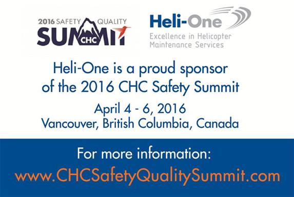 Heli-One At the 2016 CHC Safety Summit