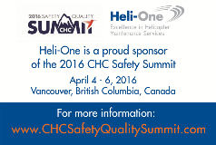 Heli-One at the CHC Safety Summit