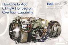 Heli-One to Add GE CT7-8A Hot Section Overhaul Capability