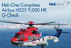 Heli-One Completes H225 G-Check