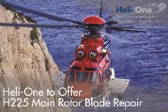 Heli-One to offer H225 Main Rotor Blade Repair Capability