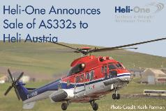 Heli-One announces sale of 3 AS332s to Heli Austria