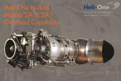 Heli-One to Add Makila 2A & 2A1 Overhaul Capability