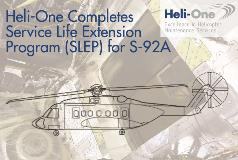 Heli-One Completes Sikorsky Service Life Extension Program for S-92A