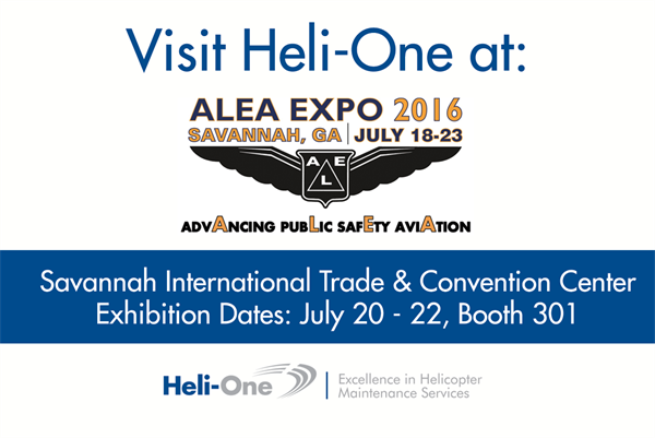 Heli-One at ALEA Expo 2016