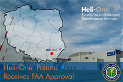 Heli-One Poland Receives FAA Approval