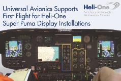 Universal Avionics EFIS Test Flight