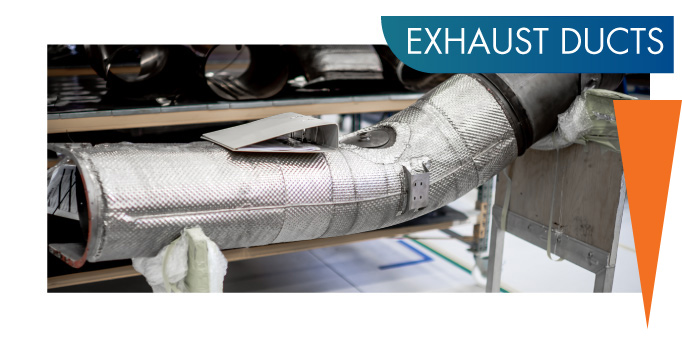 AW139 Exhaust Duct